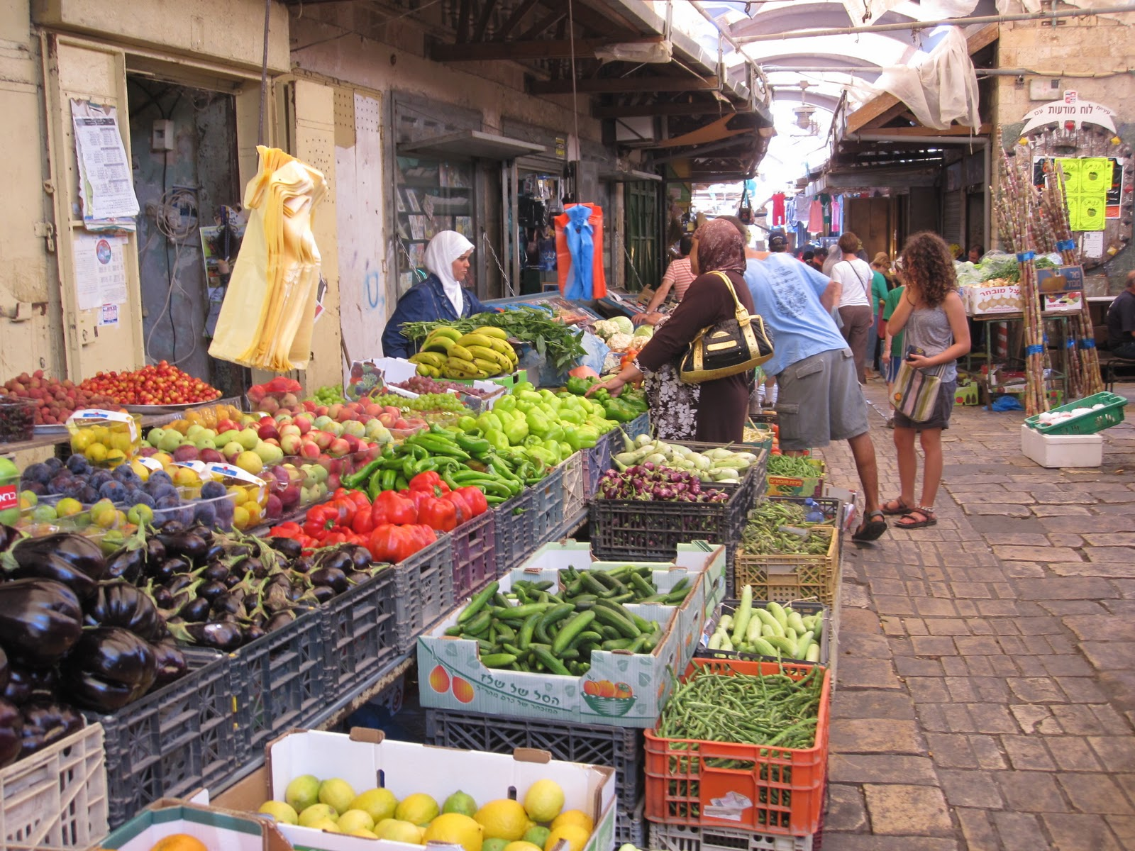haifa, marketplace