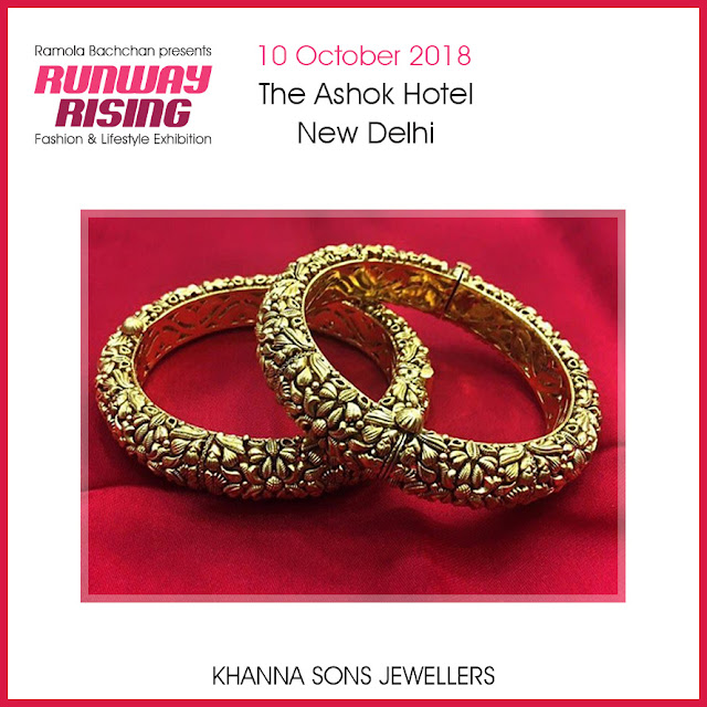 Ramola Bachchan Presents RUNWAY RISING Pre Diwali -Fashion & Lifestyle Exhibition -October 10th 2018