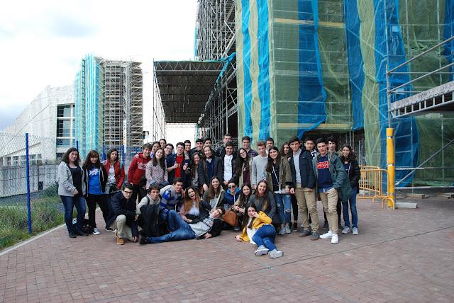 Visita a la Ciudad de la Cultura. #LocosxCiencia