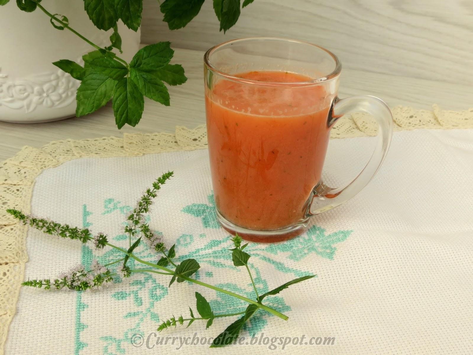 Gazpacho andaluz - Andalusian cold tomato soup