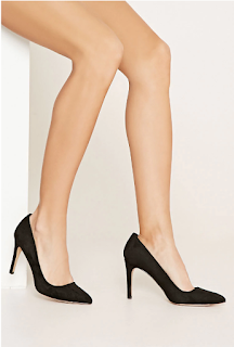 Forever 21 Faux Suede Pointed Pumps $14 (reg $20)
