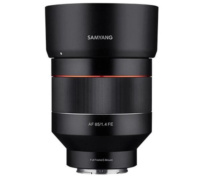 Объектив Samyang AF 85mm f/1.4 FE для Sony E