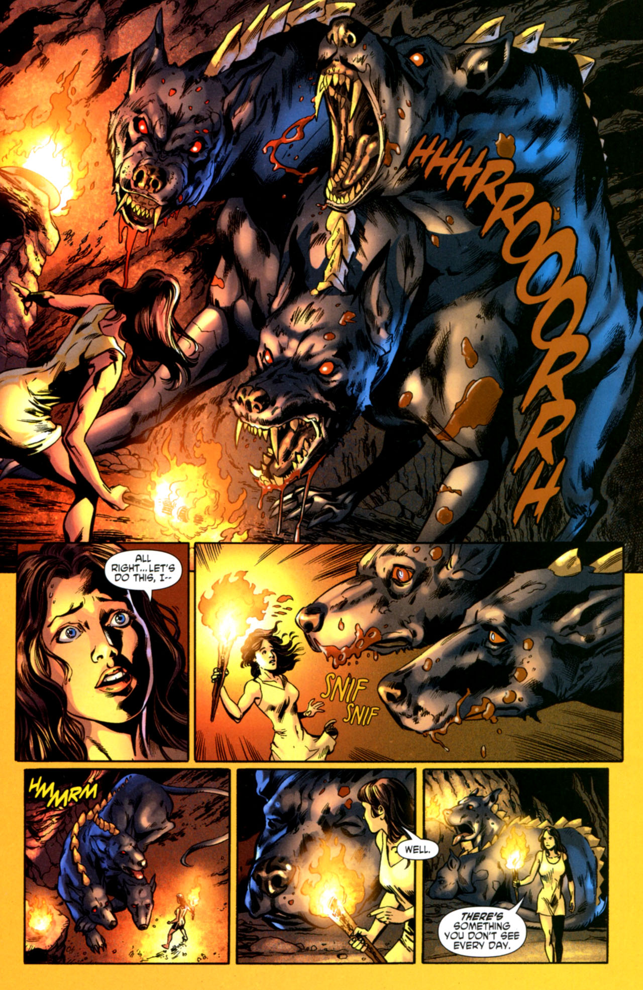 Read online Wonder Woman (2006) comic -  Issue #603 - 17