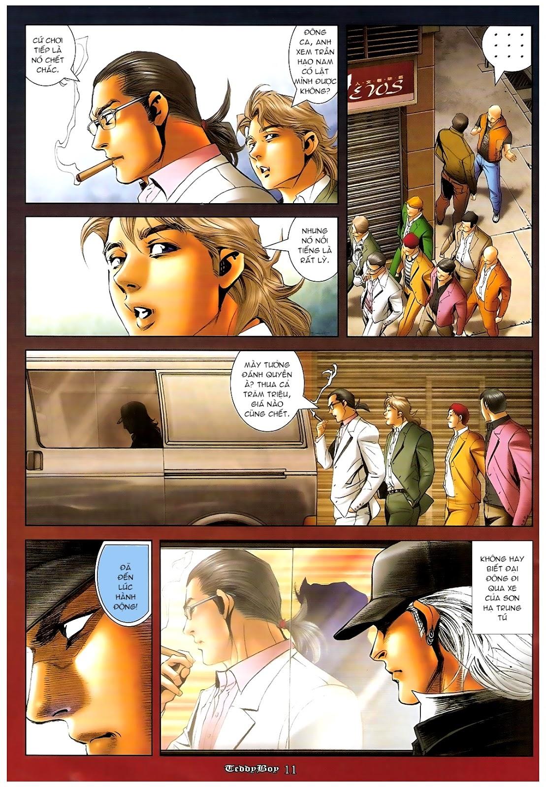 Người Trong Giang Hồ - Chapter 1206: Xúc Đại Đông - Pic 10