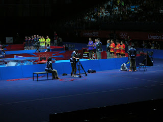 London 2012 Olympics - Mens Table Tennis Teams
