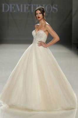 Vestidos de novia de princesa