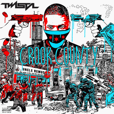 Twista - Crook County - Album Download, Itunes Cover, Official Cover, Album CD Cover Art, Tracklist