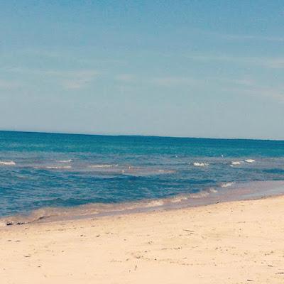 Alexandra & Co, Sauble Beach, plage, Ontario