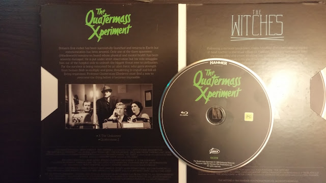 Page and Disc Art for Quatermass Xperiment from Hammer Horror The Blu-ray Collection
