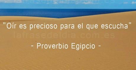 Proverbio Egípcio