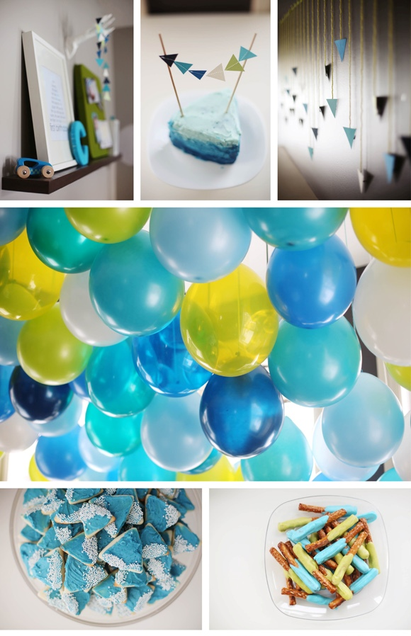 Blue Party Birthday Themes For Boys