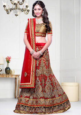 Indian-wedding-lehenga-blouse-designs-2017-for-bridal-8