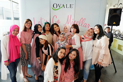 LET'S GO MICELLAR WITH OVALE MICELLAR CLEANSING WATER