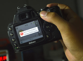 "Servis ""Error. Press shutter release button again"" pada DSLR Nikon"