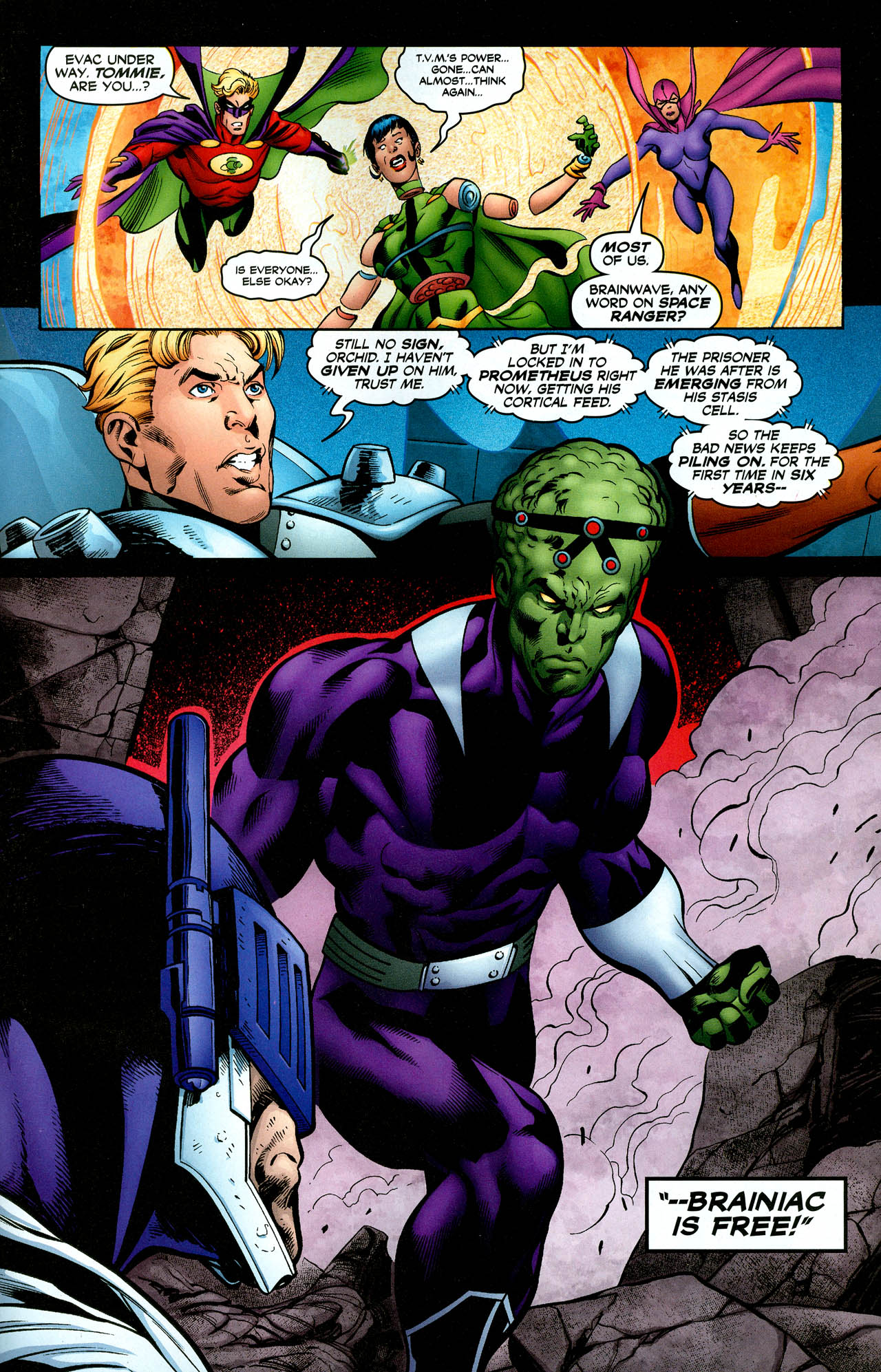 Read online Trinity (2008) comic -  Issue #29 - 27