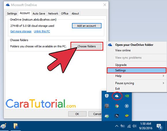 Microsoft OneDrive Windows 10
