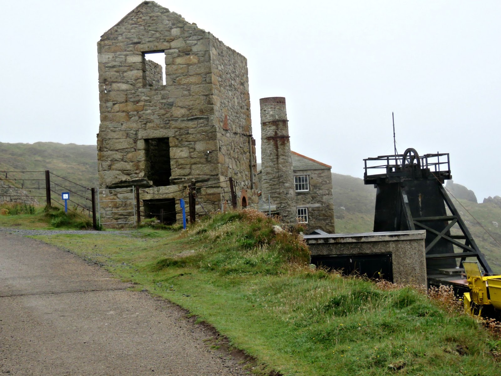 just saying    : Levant Mine and Beam Engine, Cornwall