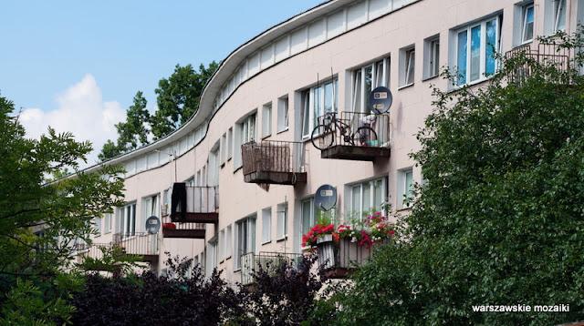 architektura Warszawa Warsaw osiedle Praga Północ Szymon Helena Syrkus 1948 cegła licówka