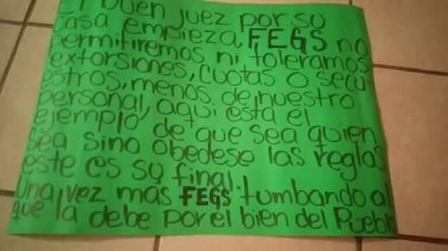 Las Fuerzas Especiales Grupo Sombra del CDG en Veracruz ejecuta a uno de sus propios miembros