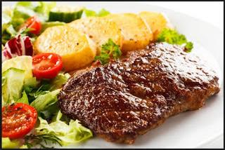Manfaat Sayuran dalam Seporsi Steak