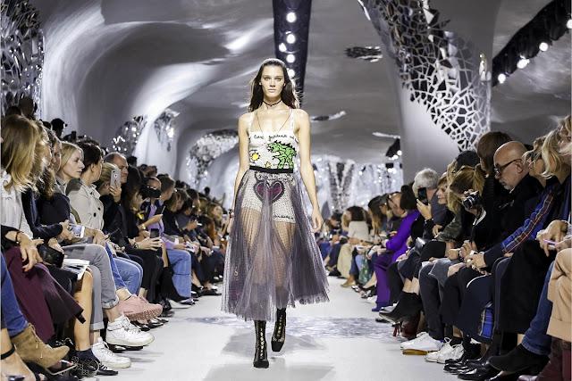 ディオール 『DIOR』 2018春夏プレタポルテコレクション Paris Fashion Week