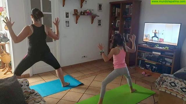 La iniciativa 'Deporte en casa por La Palma' recibió un respaldo masivo con más de 500 retos solidarios desde el confinamiento