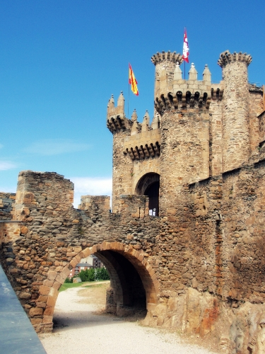 España maldita Castillo Ponferrada