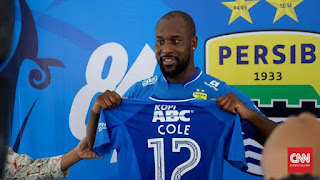Persib Bandung Tak Bawa Carlton Cole ke Markas Bali United