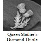 http://queensjewelvault.blogspot.com/2015/11/the-queen-mothers-diamond-thistle-brooch.html