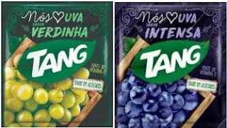 Novos Sabores Tang Uva Verdinha e Uva Intensa