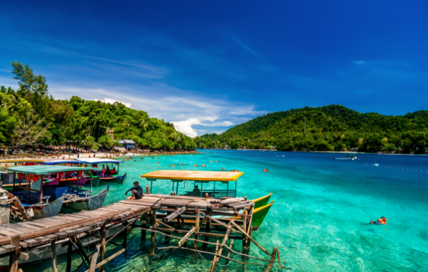 Awesome Tourist Attraction in Rubiah Island, Aceh Tourism