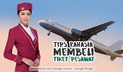 Tips Rahasia Membeli Tiket Pesawat Murah