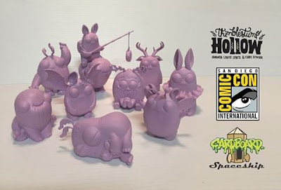 San Diego Comic-Con 2016 Exclusive Thimblestump Hollow Vinyl Figures by Chris Ryniak x Amanda Louise Spayd x Cardboard Spaceship