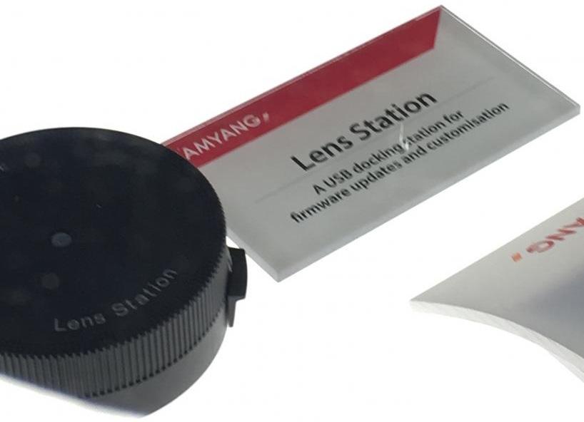 USB-док-станция для объективов Samyang