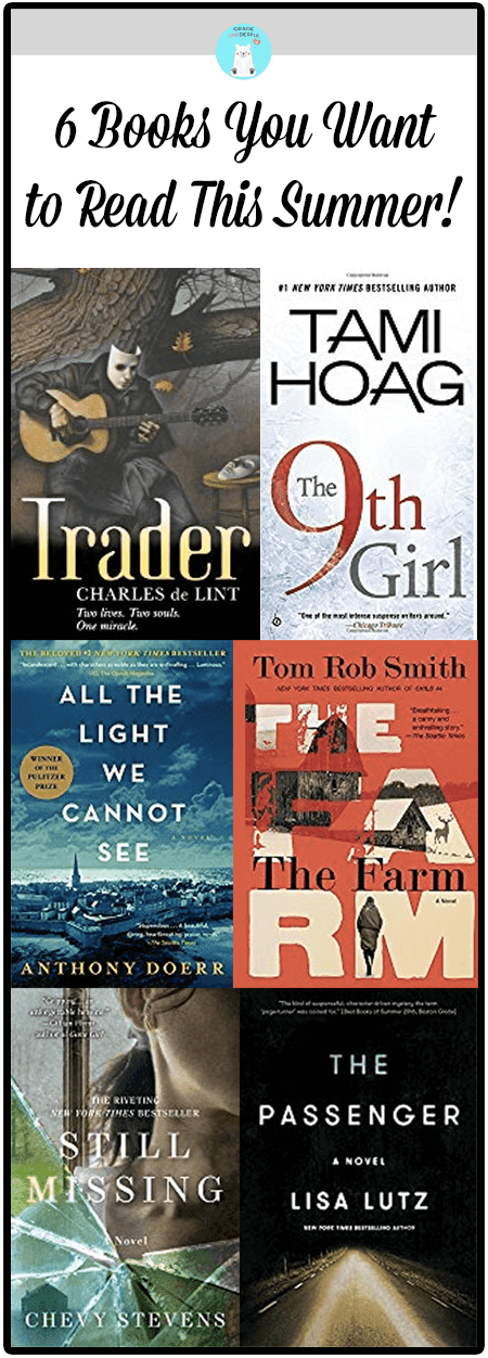 Six amazing books for summer reading