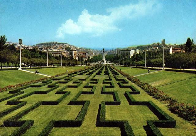 Parque Eduardo Sétimo em Lisboa