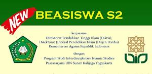 Beasiswa Kuliah S2 Studi Islam di UIN Sunan Kalijaga Yogyakarta