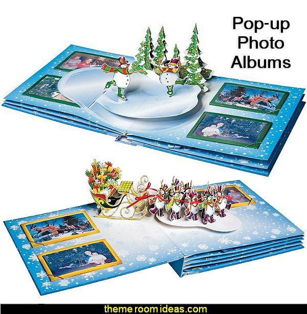 Pop-up christmas Photo Albums novelty gifts christmas gifts fun gift ideas novelty christmas decorations