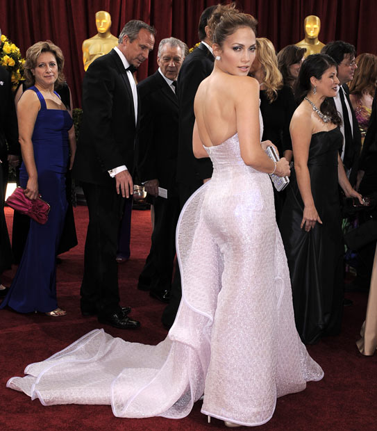 Green Aquini: Jennifer Lopez's wedding dress Spring