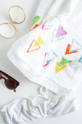 diy, beach towel, diy crafts