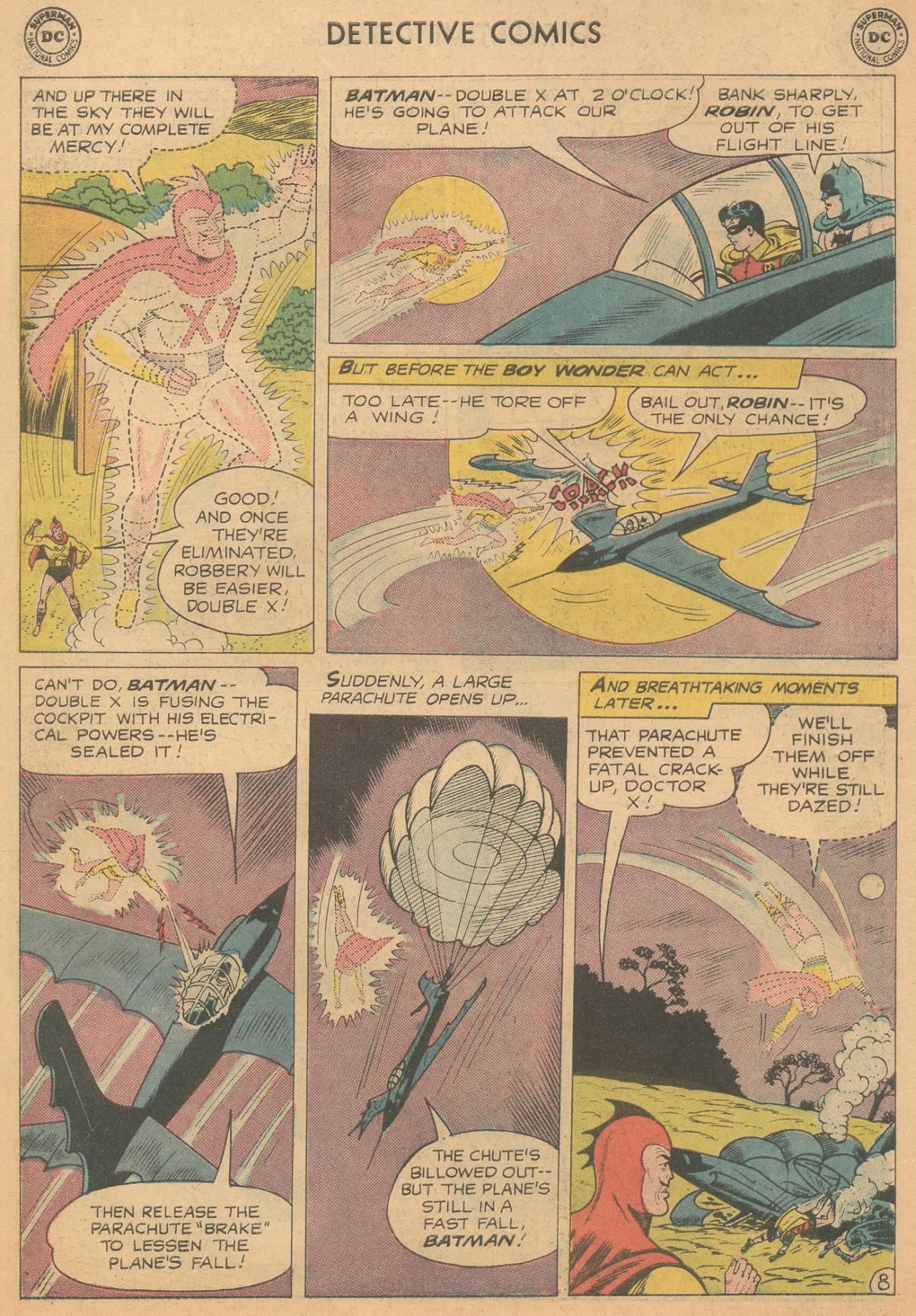 Read online Detective Comics (1937) comic -  Issue #261 - 10