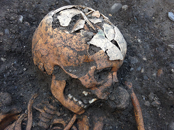Four medieval skeletons discovered in Ireland's Kilkenny