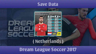 Save Data Timnas Belanda Dream League Soccer 2017