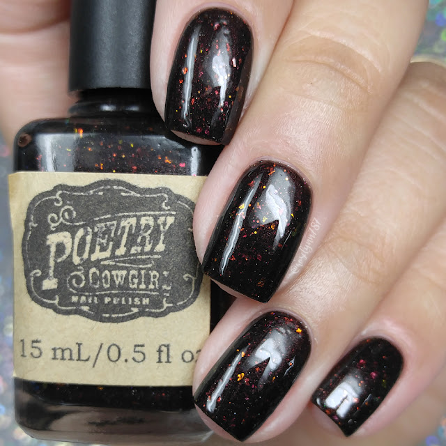 Poetry Cowgirl Nail Polish - Frankly, My Dear