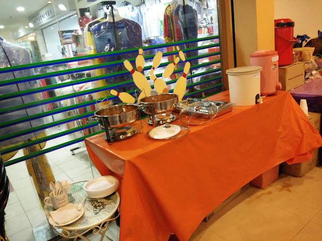 Makanan yang disediakan di Kejohanan Bowling #BBN Vs lynk.my di Plaza Alam Sentral, Shah Alam