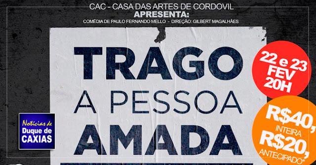 """Teatro Raul Cortez apresenta a comédia """"traga a pessoa amada em três dias"""""""