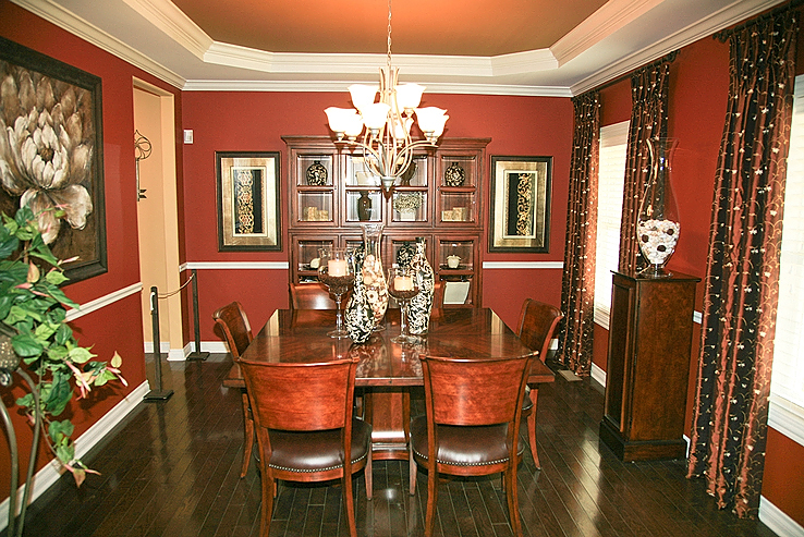 How To Select The Right Formal Dining Room Color