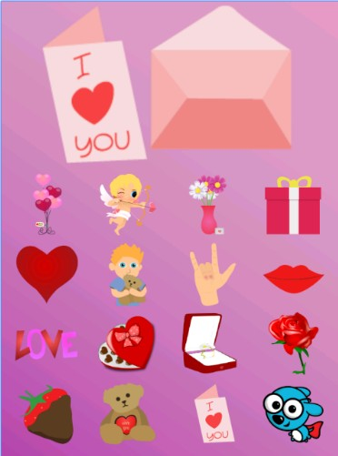 Toddlers Valentine's Day تطبيق