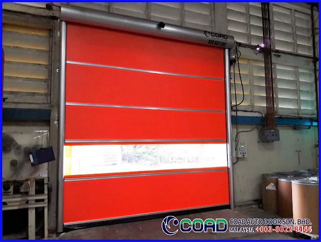 Automatic Door Malaysia, COAD Auto Door Malaysia, COAD Malaysia, High Speed Door, High Speed Door Malaysia, Industry Automatic Door Malaysia, Rapid Door Malaysia, Roll-up Door Malaysia,