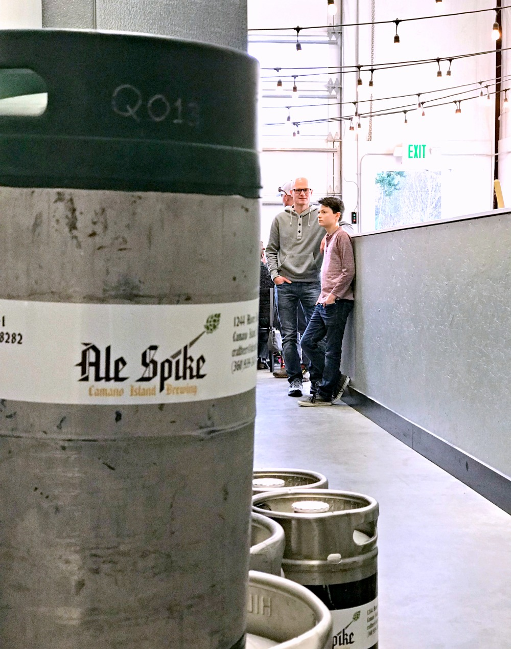 Ale Spike Camano Island brewing